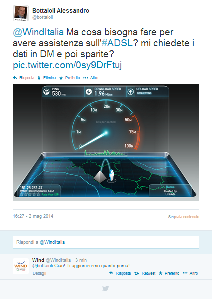 @WindItalia - Risponde!